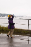 Nancy checks out the harbor.