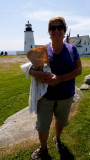 Lunch at Pemaquid