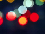 Lights in the streets of Damariscotta.....bokeh at it's best!