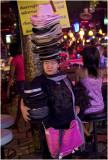 woman with hats-Pattaya