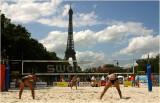 Women's beach volley-Paris 2007