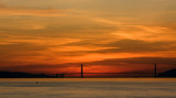 Sunset @ Golden Gate 12/8/2008