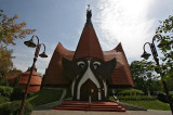 Church in Siofok,Hungary -  Organic Architecture