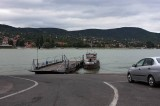 ferryboat crossing Danube