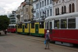 trams in Miskolc