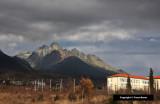 Along the High Tatra Mountains in Slovakia