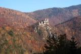 Ruin in river valley Vah