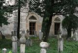 Bosnia,Mostar,old graveyard behind mosque
