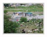 Slums near Larissa
