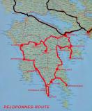Peloponnese Route;