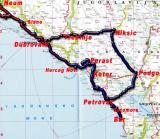 Montenegro-Route;