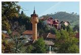Wooden minaret