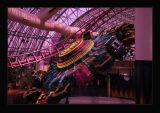 Circus-Circus;indoor amusement park offers 16 rides
