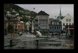 Bergen,rainy day