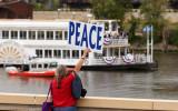 Peace Picnic near the RNC