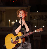 Catie Curtis at Sacred Heart Recording Studio