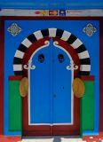 Another colored door