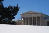 Albright Knox Art Gallery Behind The Winter Drift