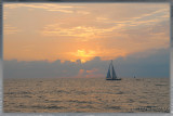 sailing in to sunset