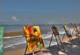 gallery on the beach
