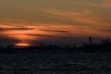 Coucher de soleil sur le fleuve St-Laurent
