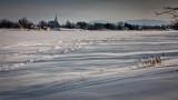 Paysage hivernal sur le Richelieu