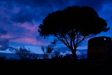 the last blue hour...