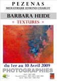 Exhibition in  April 2009 textures