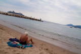 beach life in Cannes