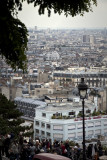 This is the kind of  view you get from Montmartre over Paris