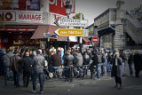 crowd at Barbes