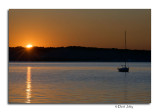 Sunrise from Grand Traverse Yacht Club