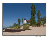 Point Betsie Lighthouse, north of Frankfort, Michigan
