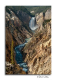 Lower Falls, Yellowstone River, From Artist's Point