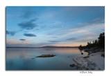 Sunset, Yellowstone Lake