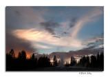 Sunset, West Thumb Geyser Basin