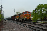 BNSF 5317 East at Downers Grove, Ill.