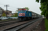 Metra 1371 at Downers Grove, Ill.