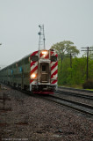 Metra 1258 at Downers Grove, Ill.