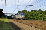 Train 165 at Southport, Ct.