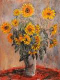 Sunflowers (Monet study)