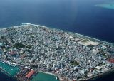 Male', the capital - as dense as Hong Kong