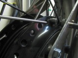 0722 New front brake torque arms and speed sensor