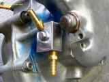 0892 Oil manifold polished up