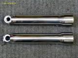 0930 Polished lower fork sliders