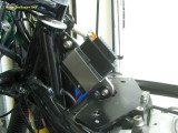 1171 Ignition box in place (under the gas tank)