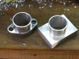 0236 making a manifold for Keihin FCR35 carburators