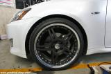 HF105R on Lexus IS250