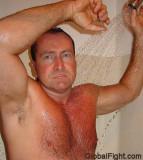 dadbear showering sauna.jpg