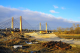 Millenium bridge on Popowice